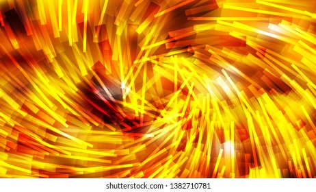 Abstract Red and Yellow Asymmetric Irregular Twirl Striped Lines Background Design