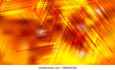 Abstract Red and Yellow Asymmetric Irregular Lines Background Image