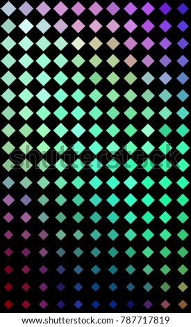 Abstract Rhombus Background For Phone Wallpaper Design