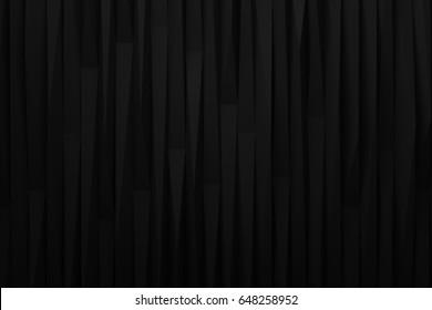 abstract rought dark black blackground  3d render
