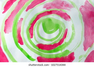 Abstract round gyro