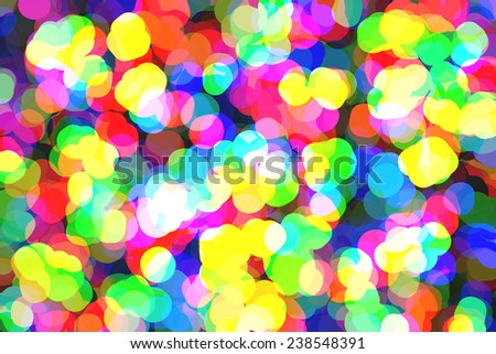abstract rounded overlapping polygons gobs carnival stock