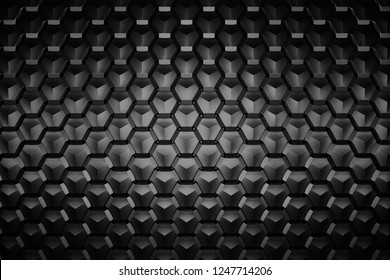 Abstract Scales Background/Geometric Pattern. 3D illustration