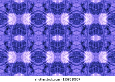 Abstract Scandinavian Stylized Decor. Frosty Blue, Indigo On Light. Tie Dye Effect. Watercolor Wallpaper On Paper Texture. Watercolor Print Pattern. Contemporary Style.