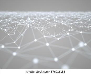 Abstract Scientific Graph Background 3d Illustration Concept