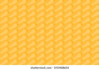 Abstract seamless pattern background orange geometric