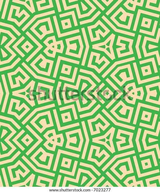 Abstract seamless  pattern - digital artwork
