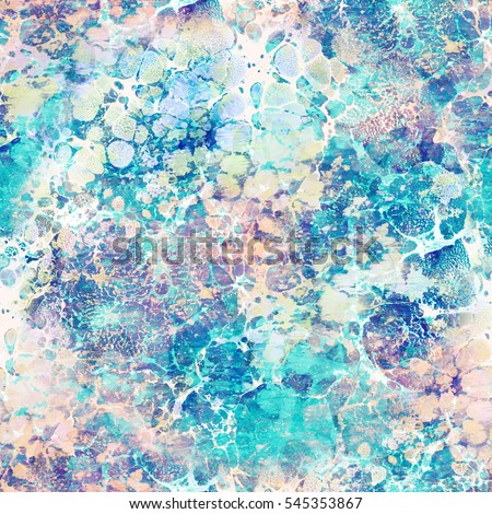 Abstract seamless pattern. Marble colorful vintage background texture.