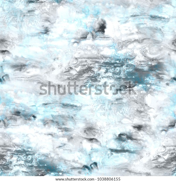 Abstract seamless pattern. Marble colorful art background texture.