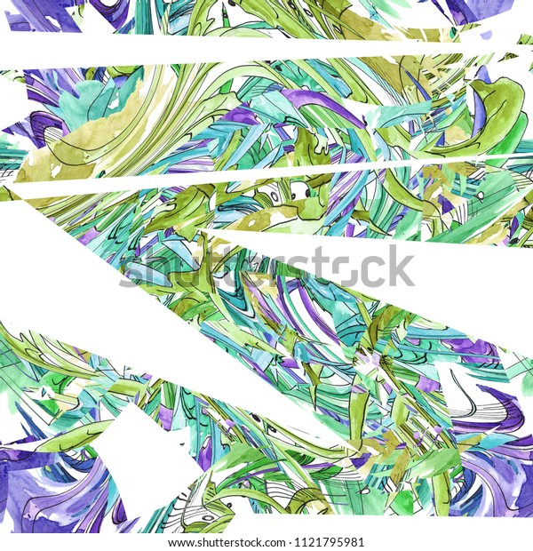 abstract shape brush line.background pattern