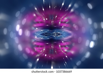 Abstract shining color bokeh background. Fashionable illustration.