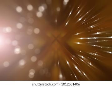 Abstract shining orange background. Fashionable illustration.