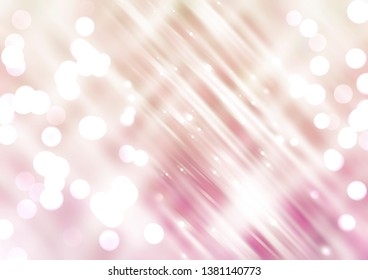 Abstract shining pink orange background. Fashionable illustration.