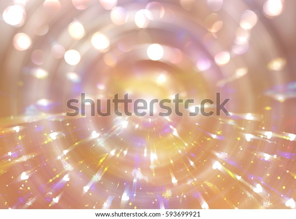 abstract shiny gold background. illustration digital.