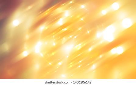 abstract shiny orange background. illustration digital.