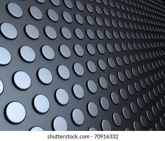Abstract silver steel background
