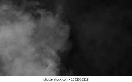 Abstract smoke texture . Mistery fog overlays background.