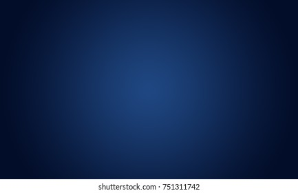 Abstract Smooth Dark blue with Black vignette Studio well use as background,business report,digital,website template.