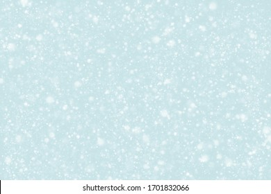 Abstract snowfall background.  Concept for winter season, Christmas and New Year.