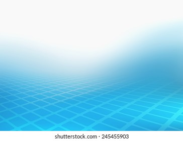 Abstract soft blue image of fading rectangles design. Created in hi-resolution suitable for background, web banner or design element. Plenty of copy space.