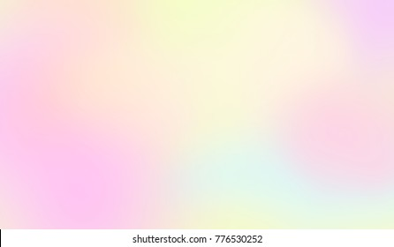 Abstract soft cloud background in pastel color gradient.