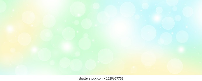 Abstract soft color bokeh background