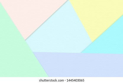 Abstract soft colorful paper texture background  with pastel and vintage style.