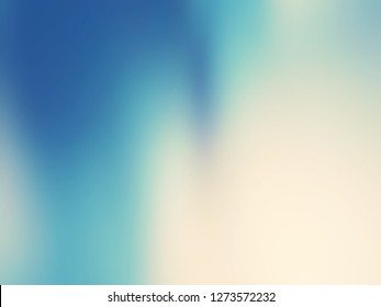 Abstract soft colorful smooth blurred textured background off focus toned in blue color, light blur abstract background