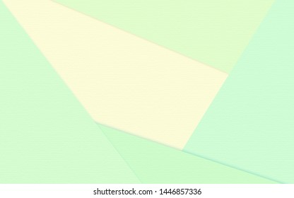 Abstract soft green and yellow paper texture background  with pastel and vintage style.