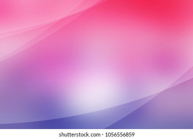 Abstract soft light pink and purple background of abstrack with curves wave line overlay. Pink and purple light line curves effect abstract background style.