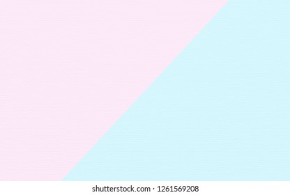 Abstract soft pink and blue paper texture background  with pastel and vintage style.