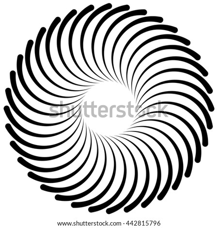 Royalty Free Stock Illustration Of Abstract Spiral Vortex Element