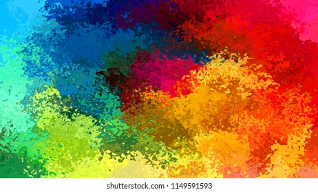 abstract stained pattern texture rectangle background full color spectrum rainbow - watercolor effect