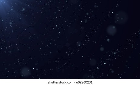 Abstract Star Dust Particle Background.