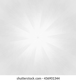 Abstract starburst background with white & gray tones