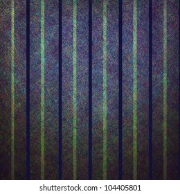 abstract striped background illustration of faded flannel cloth, blue background old purple and light green stripes with parchment fiber texture or fabric backdrop for brochure or web