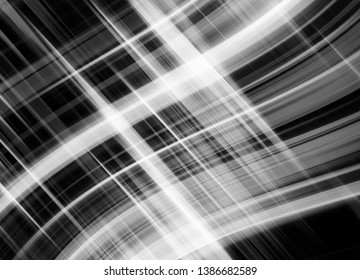 Abstract stripes silver background. Beautiful illustration crossing lines.