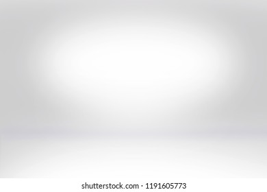 Abstract studio background empty dark wall template with bright white light from spotlight , can use for interior background and your products display