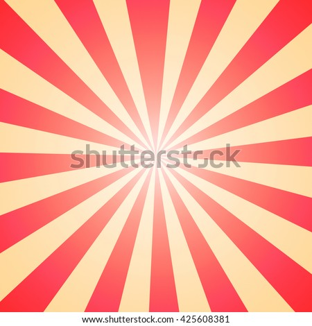 Abstract Sunburst Pattern Background With Ray Lightred And Yellow Colorful Backdrop Wallpaper