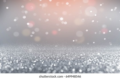 Abstract of sweet bokeh light background.