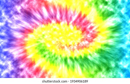Abstract swirl background. Tie dye pattern.