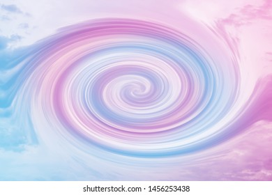 Abstract Swirl Soft Cloud sky  gradient colorful beautiful Soft subtle background pastel  abstract background. Blur . Use as wallpaper or for web design.