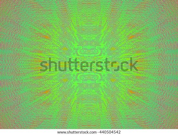 Abstract symmetrical original composition