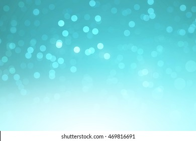 Abstract teal bokeh background