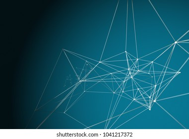 Abstract Technology Background. 3D illustration