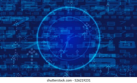 abstract technology concept for background
