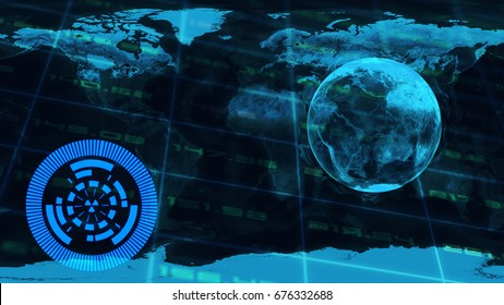 abstract technology concept element,futuristic background