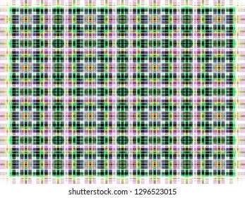 abstract texture. colored checkered pattern. vintage plaid background. geometric tartan illustration for wallpaper postcards fabric garment postcard brochures swatch graphic or concept design