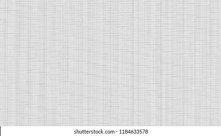 Abstract texture of a fabric surface for a background with stitches, seams and stitching. Template for website, banner or presentation. A checkered pattern with thin uneven lines. Monochrome and grey.