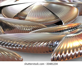 Abstract. Three-dimensional graphic image.